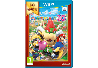 Selects Mario Party 10 Wii U