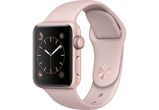 APPLE Watch Series 2 38mm roségoud aluminium / roze sportbandje