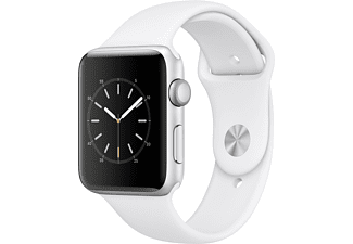 APPLE Watch Series 2 42mm zilver aluminium / wit sportbandje