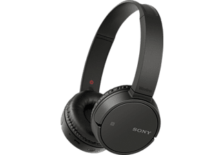 SONY MDR-ZX220, On-ear Kopfhörer, Near Field Communication, Headsetfunktion, Bluetooth, Schwarz