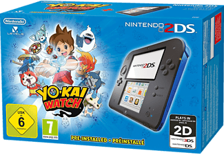 NINTENDO 2DS + Pre-installed Blue Yokai Watch