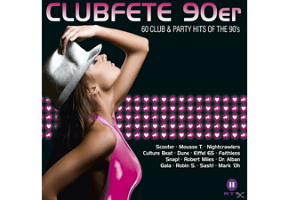 VARIOUS - Clubfete 90er-60 Club & Party Hits Of The 90's [CD]