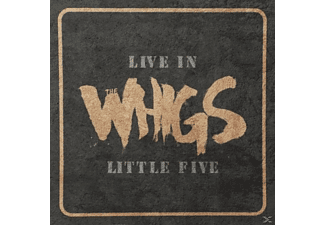 The Whigs - Live In Little Five - (Vinyl)