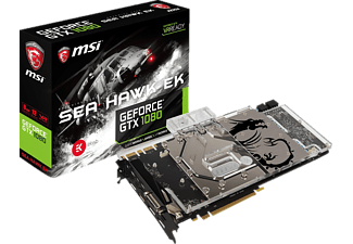 MSI GeForce GTX 1080 Sea Hawk EK X 8GB (V336-005R)( NVIDIA, Grafikkarte)