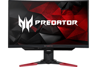 ACER Predator Z271T mit 69 cm / 27 Zoll Full-HD Display, 4 ms Reaktionszeit, Anschlüsse: 1x HDMI 1.4, 1x DP, 1x USB 3.0 Hub (1up 4down), 1x Audio Out