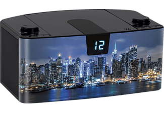 BIGBEN CD57 USB - NEW YORK BY NIGHT CD Radio (Mehrfarbig)