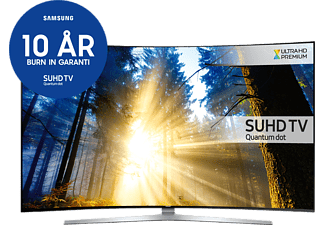 "SAMSUNG UE55KS9005TXXE 55"" Smart Curved SUHD 4K -TV - Silver"