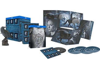 Game of Thrones: Staffel 6 - Exklusive Edition mit Figur + Bonus-Disc (5 Discs) [Blu-ray]
