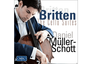 Daniel Müller-Scott - Britten: The Cello Suites - (CD)