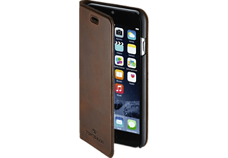 TOM TAILOR Authentic, Bookcover, iPhone 7, Leder (Obermaterial), Braun