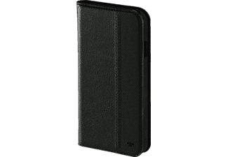 TOM TAILOR Structure, Bookcover, iPhone 7, Nylon/Polyurethan, Schwarz