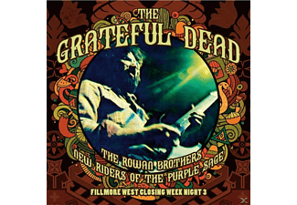 New Riders Of The Purple Sage With Jerry Garcia - Fillmore West Closing Week Night 3 [CD]