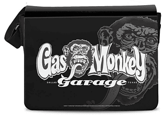 Gas Monkey Garage Messenger Bag Logo