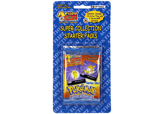 Pokémon Action Flipz Starter Pack Wackelbild und Sticker