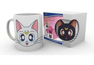 Sailor Moon Tasse Luna & Artemis