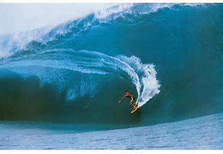 Surfer Poster Big Wave Teahupo Wave