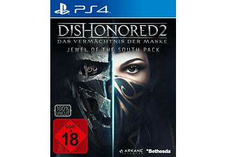 Dishonored 2: Das Vermächtnis der Maske (Exklusives Metal Plate Pack) - PlayStation 4