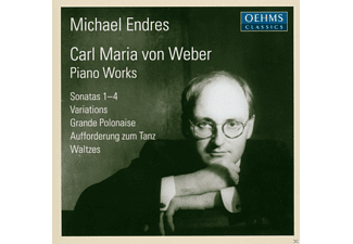 Michael Endres - Weber: Piano Works - (CD)