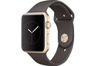 APPLE  Watch Series 1 Smart Watch Aluminium Sportband, 42 mm, Gold/Kakao