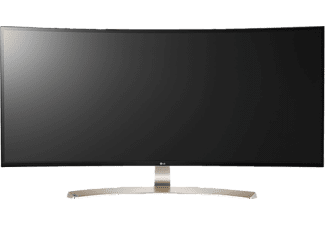 LG 38UC99-W, Gaming-Monitor mit 95.25 cm / 37.5 Zoll, 5 ms Reaktionszeit, Anschlüsse: 2 x HDMI, 1x DisplayPort, 1x USB-C, USB 3.0 (1 upstream / 2 downstream), inklusive USB Quick Charge für Port 1, 1x 3.5 mm Klinke