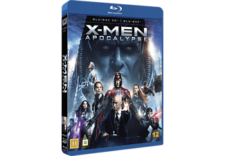 X-Men: Apocalypse Action 3D BD & 2D BD, Blu-Ray