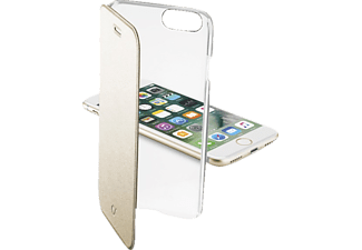 CELLULAR LINE CLEAR BOOK, Apple, Bookcover, iPhone 7, iPhone 8, Kunststoff, Gold