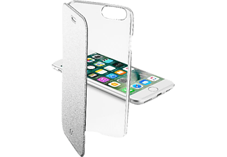 CELLULAR LINE CLEAR BOOK, Bookcover, Apple, iPhone 7, Kunststoff, Silber