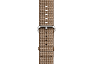 APPLE Nylonband, Armband, Apple, Watch (38 mm Gehäuse), Coffee/Karamell