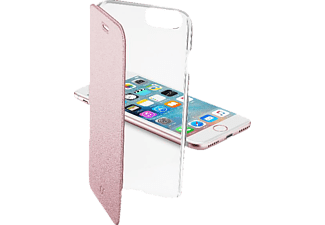 CELLULAR LINE CLEAR BOOK, Bookcover, Apple, iPhone 7, Kunststoff, Pink