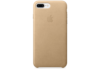 APPLE Leather Case iPhone 7 Plus Lichtbruin