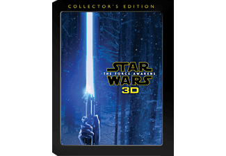 Star Wars: Episode VII - The Force Awakens 3D Science Fiction 3D Blu-ray + Blu-ray + DVD