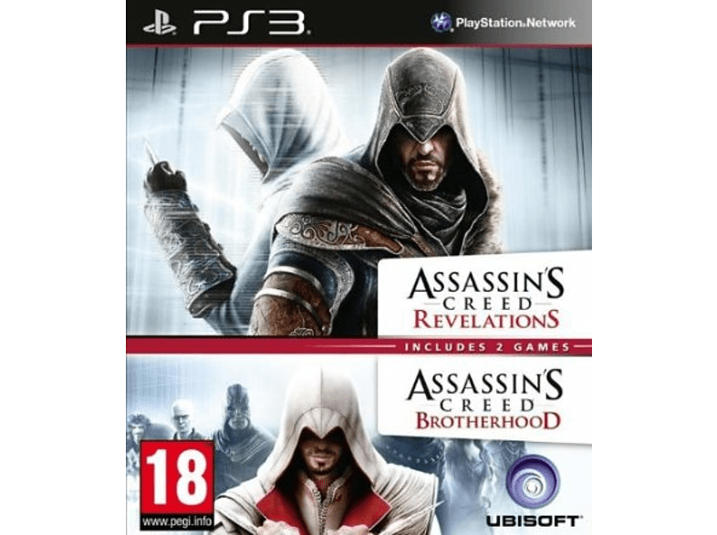Assassins Creed Brotherhood & Assassins Creed Revelations PlayStation 3 gaming   offline sony ps3 παιχνίδια ps3 gaming games ps3 games