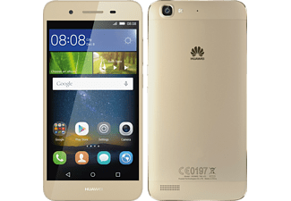 HUAWEI P8 lite smart, Smartphone, 16 GB, 5 Zoll, Gold, LTE