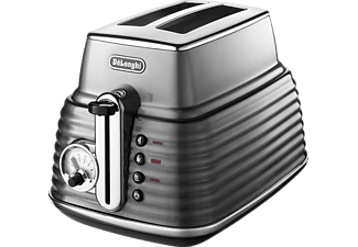 DELONGHI CTZ 2103.GY Scultura Toaster Stahl/Grau ()
