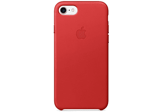 APPLE Leather Case iPhone 7 / 8 Rood