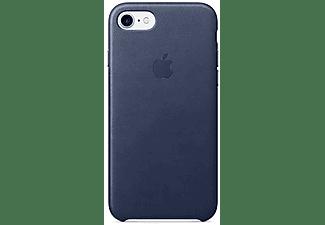 APPLE Leather Case iPhone 7 Donkerblauw