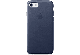 APPLE Leather Case iPhone 7 Donkerblauw