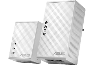 ASUS 300 Mbps Wi-Fi HomePlug® AV500 Powerline Adapter-sats