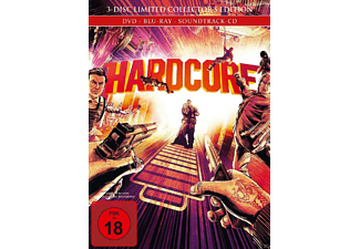 Hardcore (Limited Collector's Edition inkl. Booklet + Originalsoundtrack) [Blu-ray + DVD]