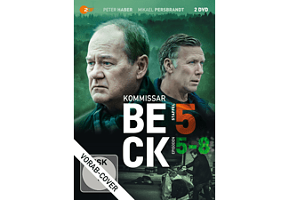 Kommissar Beck - Staffel 5/Episode 5-8 - (DVD)