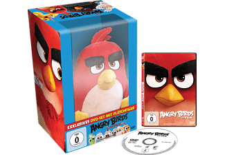 Angry Birds - Der Film + Plüschfigur RED [DVD]
