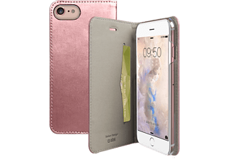 SBS MOBILE Book case för iPhone 7 - Rosé Guld