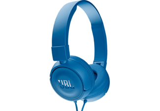 JBL T450, On-ear Kopfhörer, Headsetfunktion, Blau