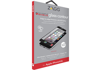 ZAGG Contour Glass iPhone 7 - Vit