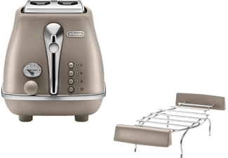 DELONGHI CTOE 2103.BG Icona Elements, Toaster, Desert Beige