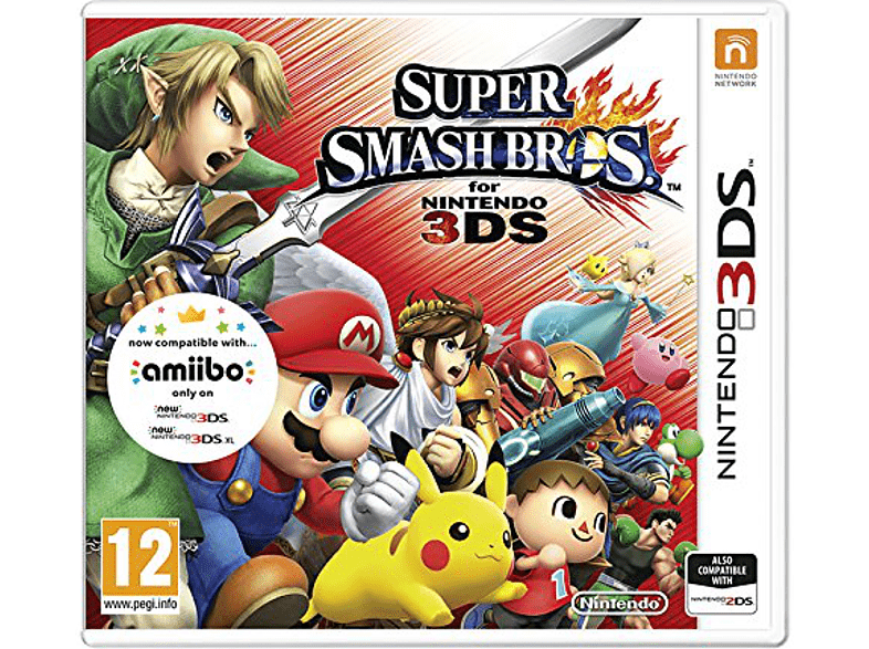 Super Smash Bros Nintendo 3DS gaming games nintendo 2ds  3ds games gaming φορητές κονσόλες games 2ds  3ds gami