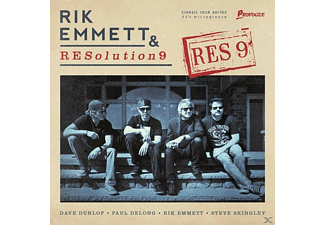 Rik/resolution 9 Emmett - RES9 - (CD)