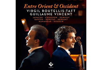 Guillaume Vincent, Virgil Boutellis-Taft - Entre Orient Et Occident - (CD)