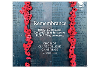Jennifer Johnston, Neal Davies, Guy Johnston, Matthew Jorysz, Choir Of Clare College, Cambridge - Remembrance - (CD)