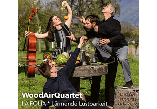 Woodairquartet - La Folia - (CD)